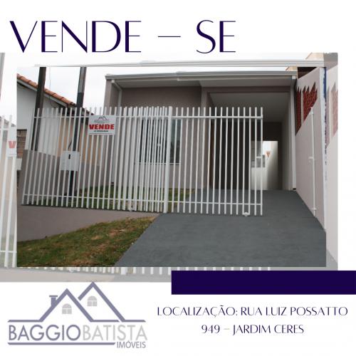 Vende-se Casa com 110 m²